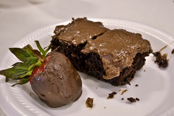 Grandma S's Chocolate Cake