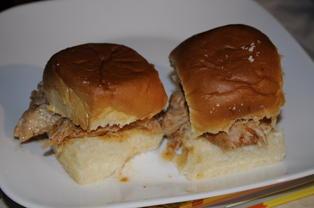 BBQ Pork Sliders