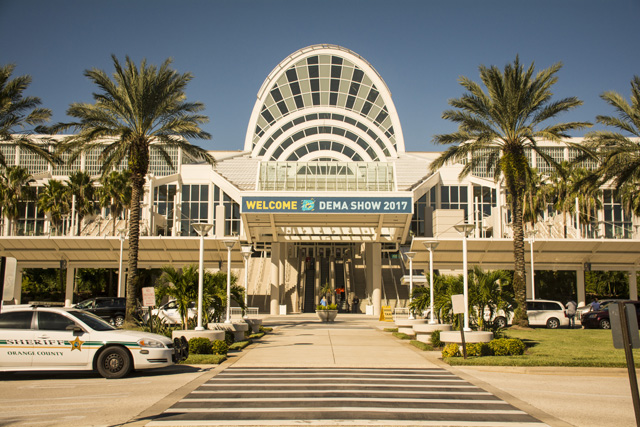 DEMA entrance at the Orange County Convention Center